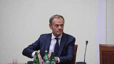 Przesłuchanie Donalda Tuska przed komisją śledczą ds. VAT