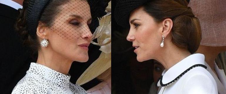 Księżna Kate zignorowała królową Hiszpanii. Letycja nie wiedziała, jak się zachować