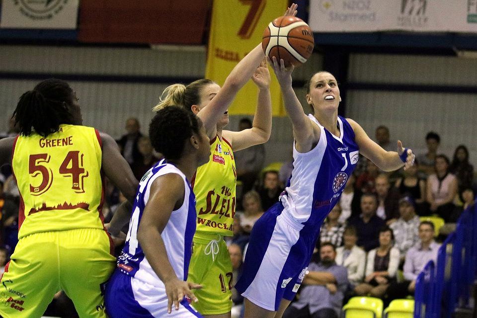 Basket Liga Kobiet: Ślęza Wrocław - InvestInTheWest AZS AJP Gorzów 81:90 (22:24, 18:27, 21:23, 20:16)