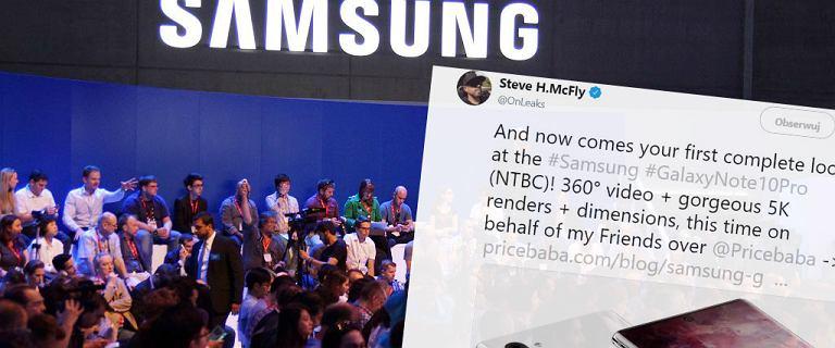 Samsung Galaxy Note 10 coraz bliżej. Nowy król smartfonów?