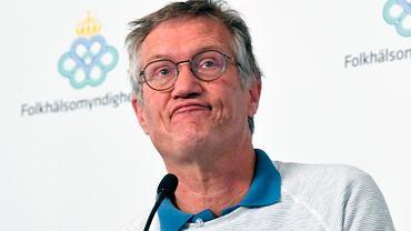 Główny epidemiolog Szwecji Anders Tegnell