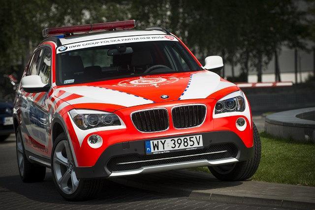 BMW X1 dla Pokojowego Patrolu