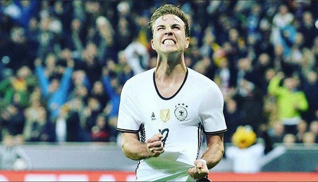 Zdjęcie numer 0 w galerii - Mario Goetze, bohater reprezentacji Niemiec, poważnie chory. Widać, jak się zmienił