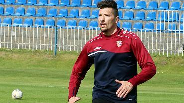 Środa, 26 maja 2021 r. Piłkarska trzecia liga: Warta Gorzów - Stal Brzeg 3:0 (2:0). Paweł Posmyk