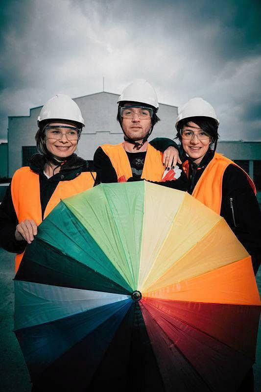 Magdalena Cielecka, Piotr Polak i Maja Ostaszewska zapraszają na otwarcie Międzynarodowego Centrum Kultury Nowy Teatr / ALBERT ZAWADA