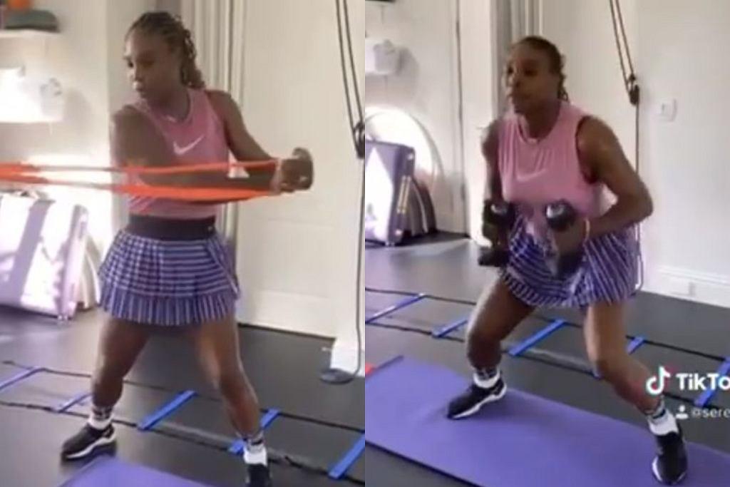 Serena Williams - trening