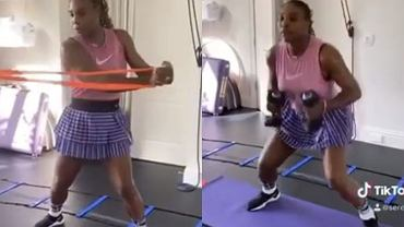 Serena Williams - trening