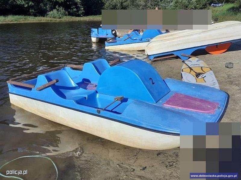 Nietrzeźwy mężczyzna wypchnął swoją żonę do jeziora