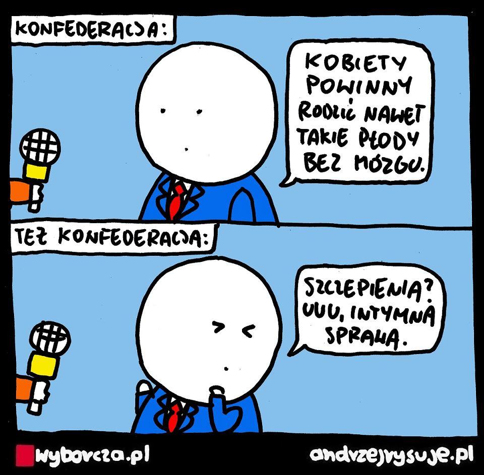 Andrzej Rysuje | Konfederacja - Andrzej Rysuje - null