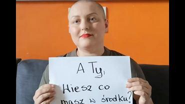 Pani Malwina chce uświadomić kobietom, że regularne badania mogą uratować życie