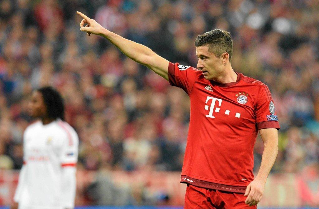 Benfica - Bayern. Lewandowski. Transmisja TV, Relacja Online, Stream Na żywo