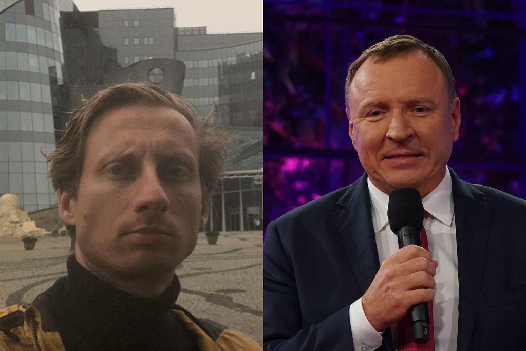 Jacek Kurski i Franciszek Sterczewski