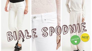 Białe spodnie- podpowiadamy z czym nosić