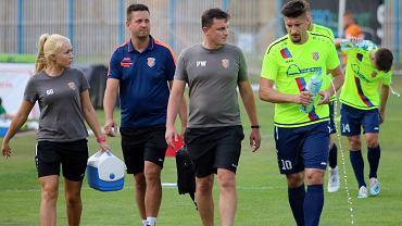 Sobota, 8 sierpnia 2020 r. Piłkarska trzecia liga: Warta Gorzów - Polonia Stal Świdnica 1:3 (1:1)