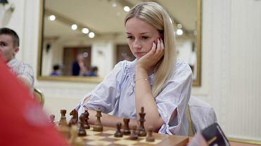 Ekstraliga Szachowa 2019, drużynowe mistrzostwa Polski w szachach. Karina Cyfka (Klub Szachowy Stilon Gorzów)