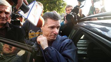 Prezydent miasta Czesław Małkowski wypuszczony z aresztu. Olsztyn, 26 września 2008
