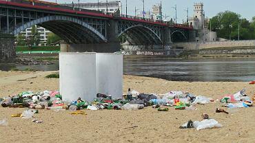 Śmieci nad Wisłą