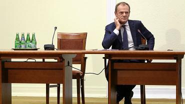Donald Tusk przed komisją ds. Amber Gold
