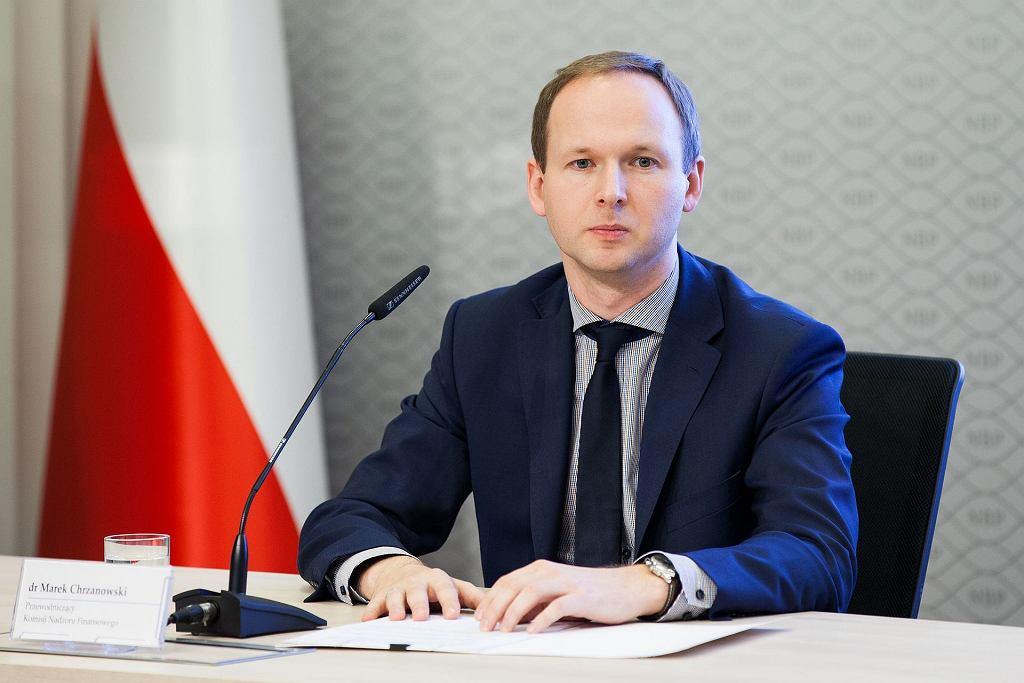 Marek Chrzanowski, szef KNF