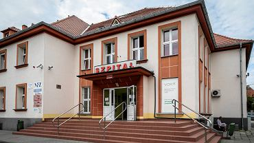 Szpital przy ul. Radiowej w Gliwicach