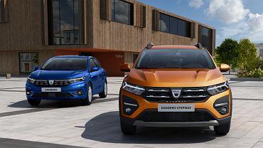 Dacia Sandero i Sandero Stepway 2020