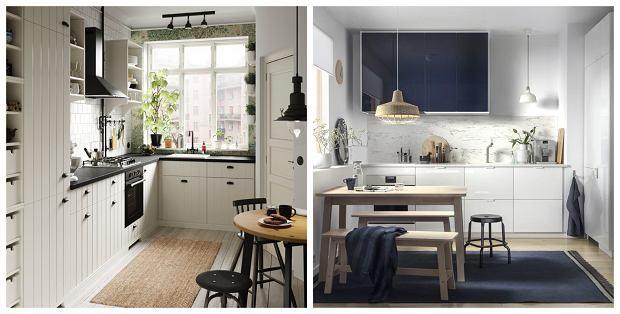 Aranżacje kuchenne IKEA - meble HITTARP i JÄRSTA