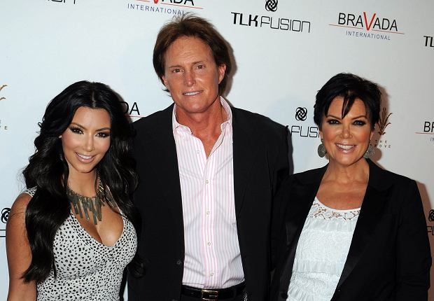 Kim Kardashian, Kris Jenner and Bruce Jenner attend the Bravada International launch party at The Whisper Lounge at The Grove on April 7, 2010 in Los Angeles, California.at The Whisper Lounge at The Grove on April 7, 2010 in Los Angeles, California. Picture Derek Ross/LFI