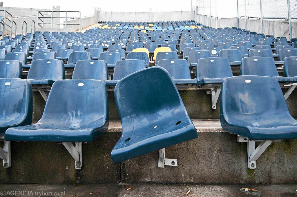 Bydgoski stadion po meczu Zawisza - Widzew