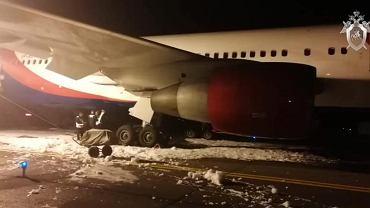 Rosja. Twarde lądowanie samolotu. Rannych jest 49 osób