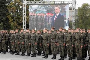 Żołnierze Wojsk Obrony Terytorialnej będą składać przysięgę w Warszawie. Kierowcy muszą się liczyć z utrudnieniami