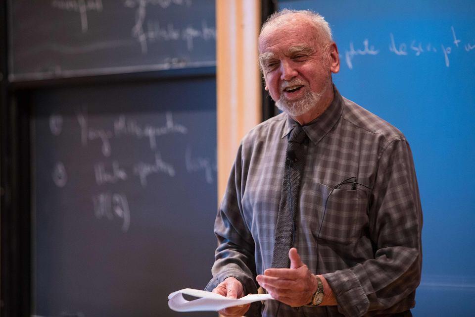 Kanadyjski matematyk Robert Langlands