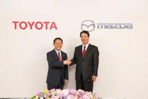 Współpraca Toyoty z Mazdą