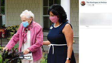 102-letnia Mildred 'Gerri' Schappals przeżyła zakażenie koronawirusem, 'hiszpankę' i dwie choroby nowotworowe.