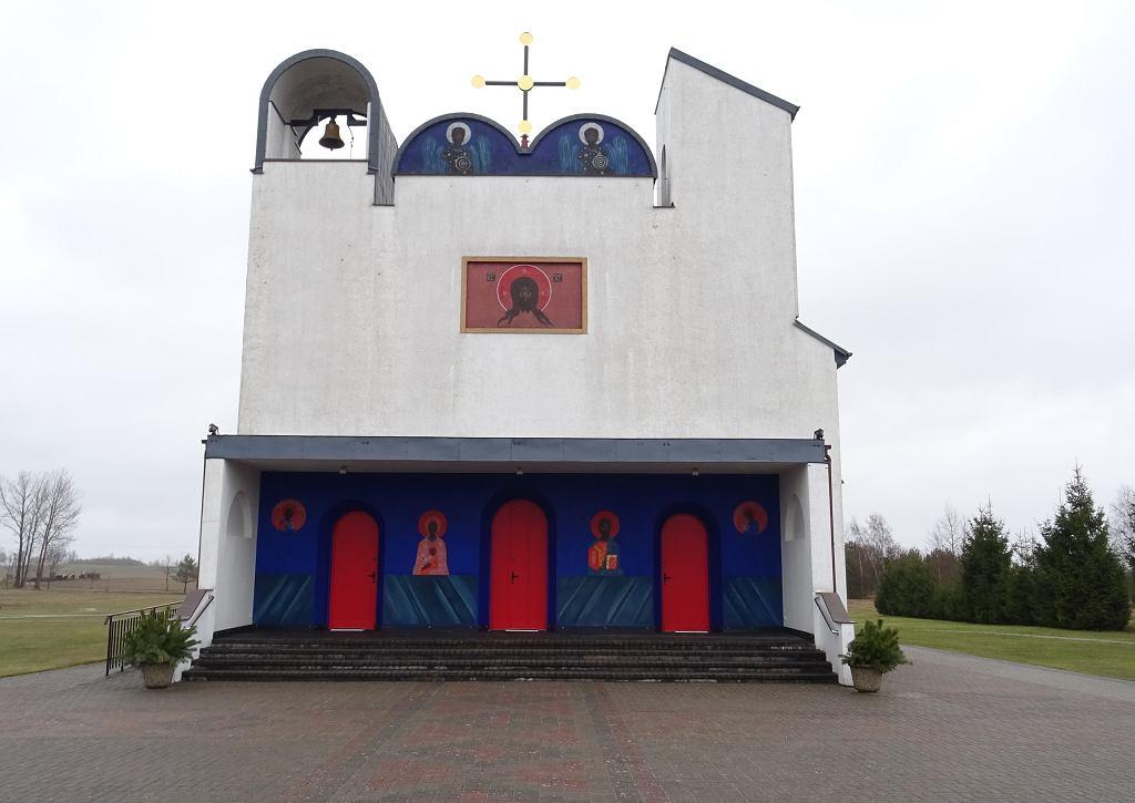 Najmłodszy zabytek w Polsce - cerkiew Greckokatolicka p.w. Narodzenia Przenajświętszej Bogurodzicy w Białym Borze
