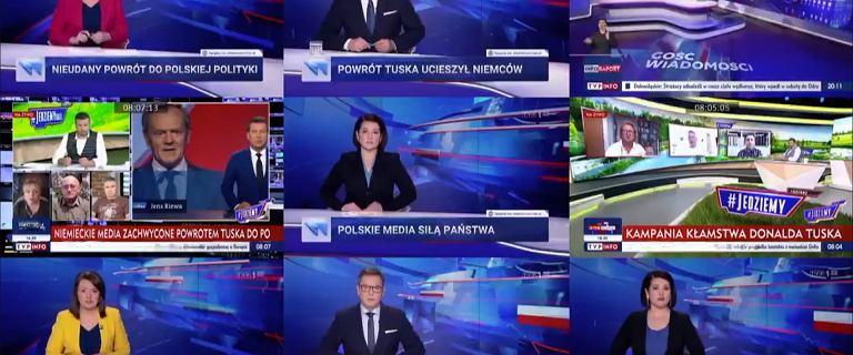 """""""Fakty"""" pokazały rzeczywistość TVP. """"Für Deutschland"""" Tuska i """"przełomowy"""" Polski Ład"""