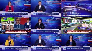 W 'Faktach' TVN pokazano, jak telewizja państwowa pokazuje Donalda Tuska