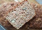 Najłatwiejszy domowy chleb razowy - z 5 składników, bez zakwasu, bez zagniatania [PRZEPIS]