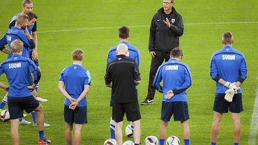Trener Finlandii Markku Kanerva