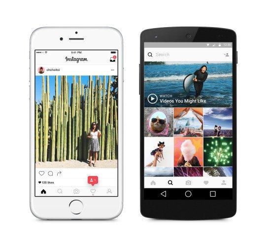 Nowa aplikacja Instagrama