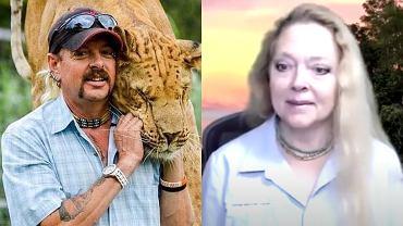 Joe Exotic i Carole Baskin