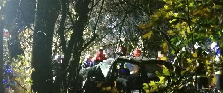 Wypadek na Dolnym Śląsku. Dwie ofiary śmiertelne i 15-latek za kierownicą