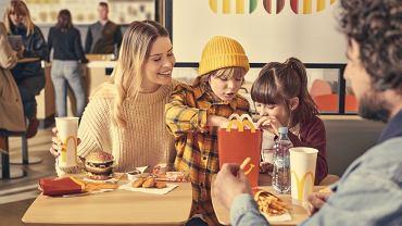 McDonald's, materiał promocyjny