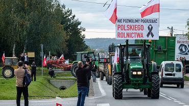 Protest rolników. Przeciwnicy 'piątki dla zwierząt' znów wyjechali na ulice (zdjęcie ilustracyjne)