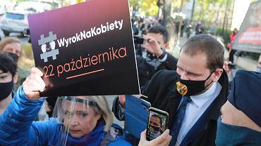 Protest pod Trybunałem Konstytucyjnym