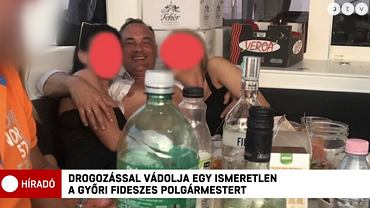 Orgia na jachcie, fragmenty nagrań z udziałem Zsolta Borkaia