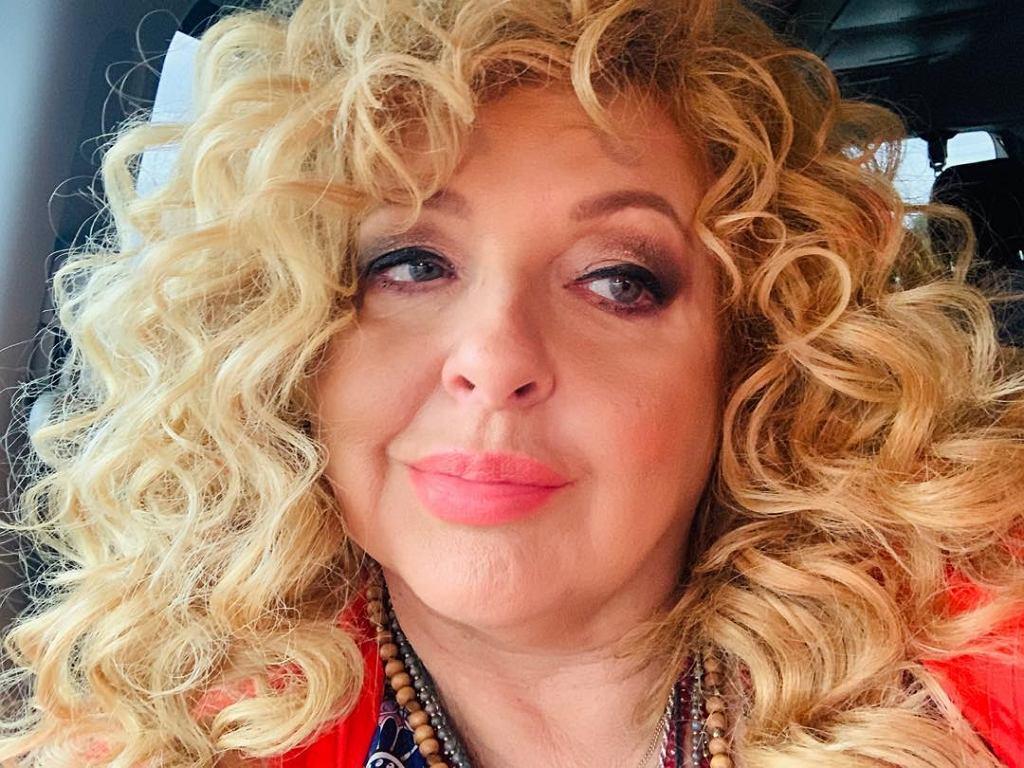 Magda Gessler w mocnym makijażu