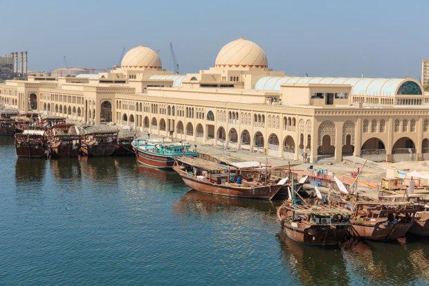 Port w Szardży, Zjednoczone Emiraty Arabskie.