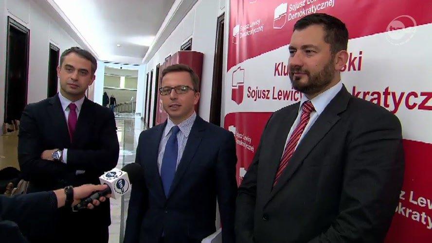 Trzech tenorów z Sojuszu: Krzysztof Gawkowski, Dariusz Joński, Marek Balt