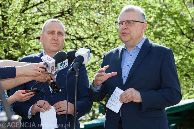 Grzegorz Schetyna zapowiada budowanie koalicji wokół kandydatury Kazimierza Michała Ujazdowskiego.