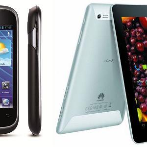 Trzy nowości Huawei: tablet Huawei MediaPad 7 Lite, smartfon Huawei Ascend Y 201 pro oraz smartfon Huawei Ascend D1 Quad XL